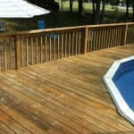 Deck Cleaning Before